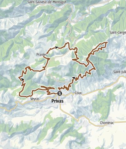 Carte / Privas-2019-50km