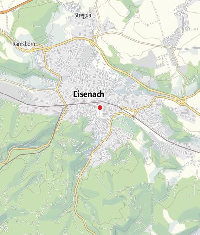 Map / Tourist Information, Eisenach