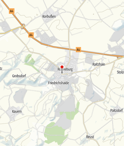 Karte / Stadtinformation Ronneburg