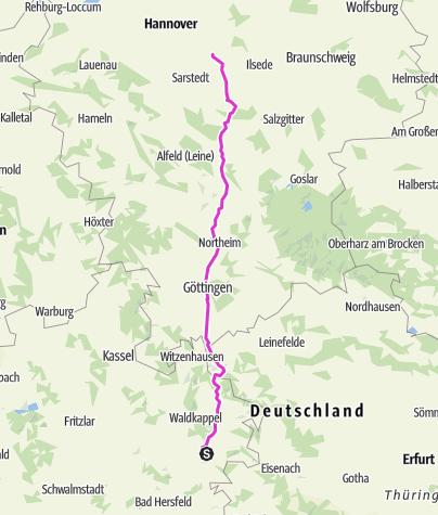 Karte / Kaufbeuren Faßberg 4, Nenntershausen-Sehnde