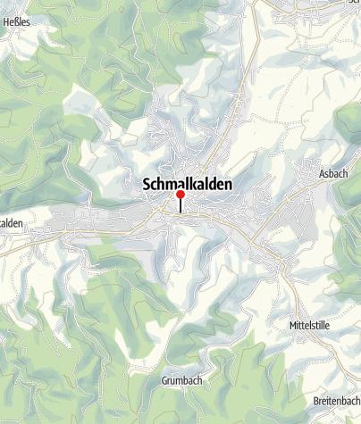Karte / Schmalkalden - Tourist-Information