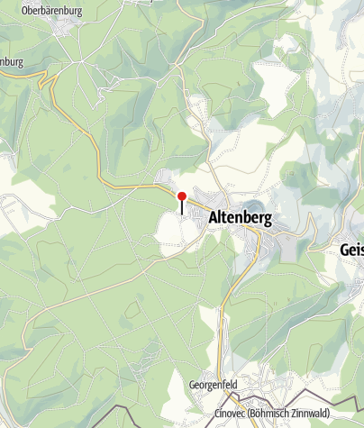 Map / Campingplatz Altenberg