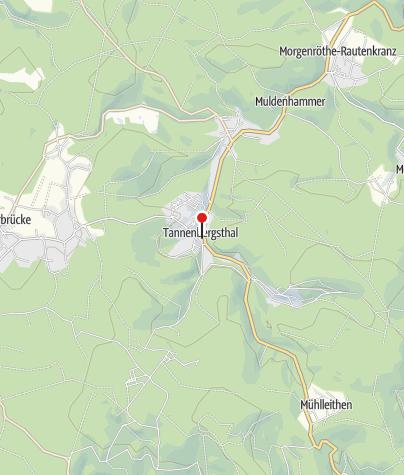 Karte / Tourist-Information Muldenhammer
