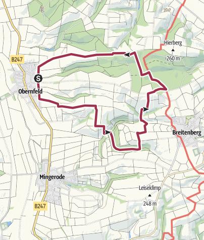 Karte / WG Hämelei-Hübental 10,1km / 2h50min 2020-06-21