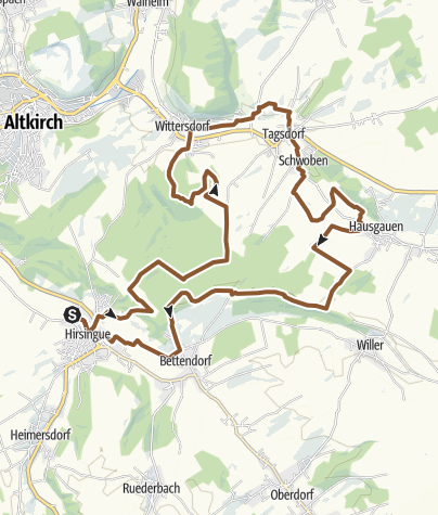 Carte / 14 la vallée de Thalbach