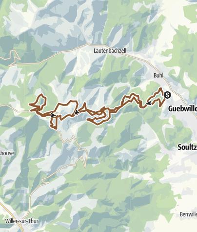 Carte / 37km grand ballon