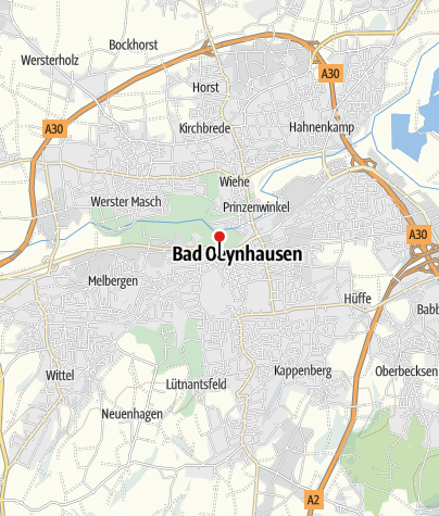 Karte / Radstation Bad Oeynhausen
