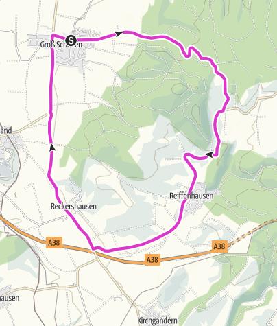 Karte / Hausrunde Groß Schneen - Ludolfshausen - Reiffenhausen - Reckershausen - GS
