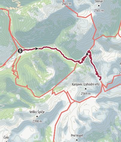Karte / Variante Tag 1