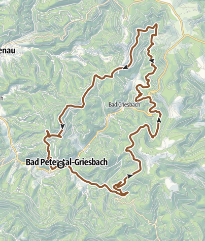 Map / MTB Bäder Tour