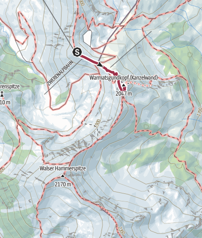 Karte / KANZELWAND