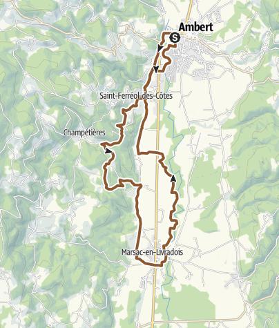 Carte / Ambert VTT35