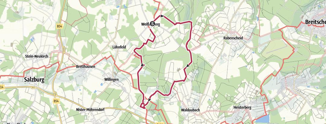 Map / bevandert x Fuchskaute
