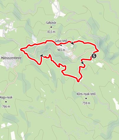 Map / Galyatető körtúra