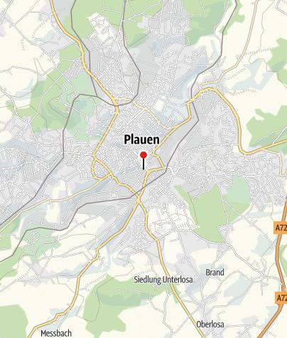 Map / Sparkasse Vogtland – Verwaltungsgebäude