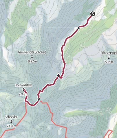 Karte / Hochwildstelle