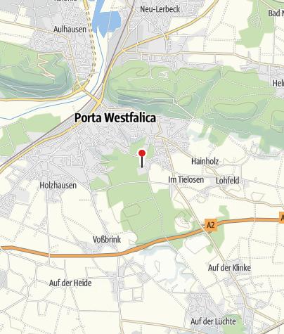 Karte / Porta Westfalica Wohnmobilstellplatz am Badezentrum