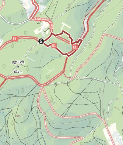 """Map / Märchenwanderweg """"Kleiner Rothaar"""""""