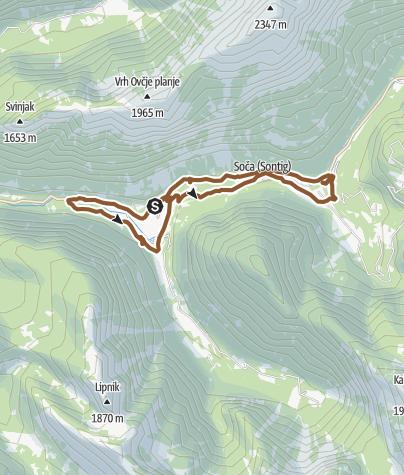 Karte / Mountainbike am 26. August 2020 um 10:39