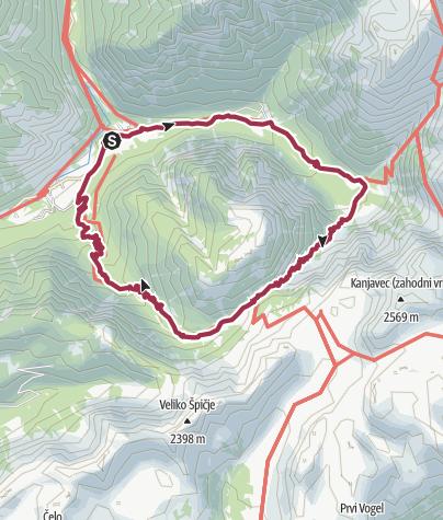 Zemljevid / Wanderung vom 16. August 2020