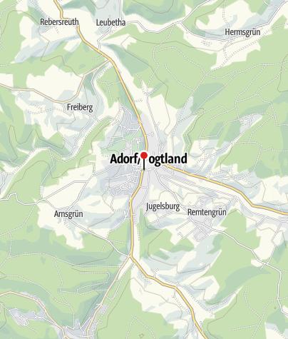 Map / Sparkasse Vogtland – Filiale Adorf