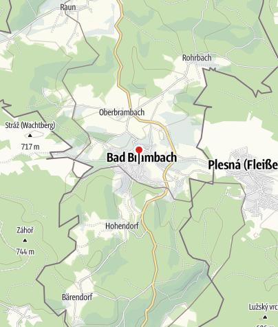 Karte / Sparkasse Vogtland - Filiale Bad Brambach