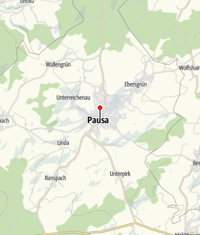Map / Sparkasse Vogtland - Filiale Pausa