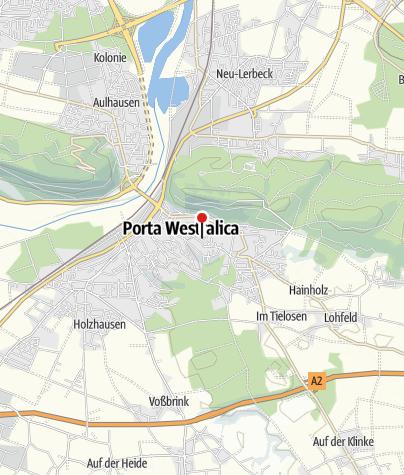 Karte / Gästehaus Am Wiehen