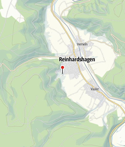 Karte / Parkplatz Veckerhagen