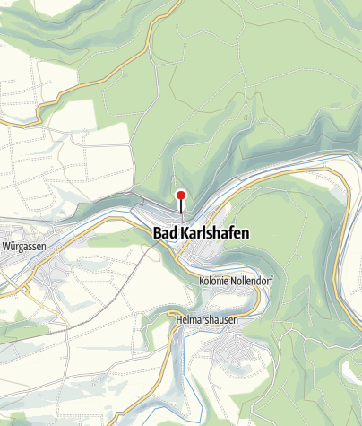 Karte / Parkplatz Bad Karlshafen