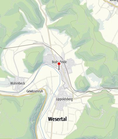 Karte / Schiffsanlegestelle Bodenfelde