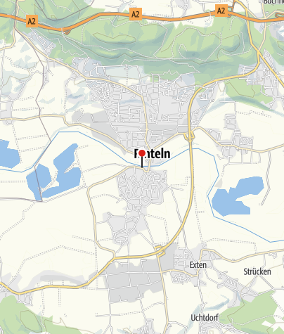 Karte / Schiffsanlegestelle Rinteln