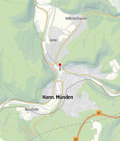 Karte / Kanuanlegestelle Altstadt/Tanzwerder