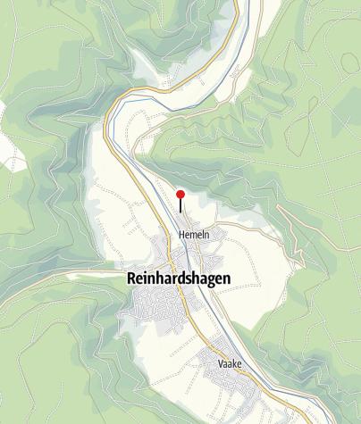 Karte / Kanuanleger Hemeln-Campingplatz