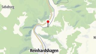 Karte / Kanuanlegestelle Glashütte-Jugendzeltplatz