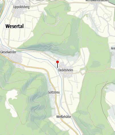 Karte / Kanuanlegestelle Oedelsheim