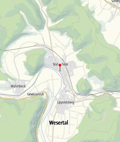 Karte / Kanuanlegestelle Bodenfelde
