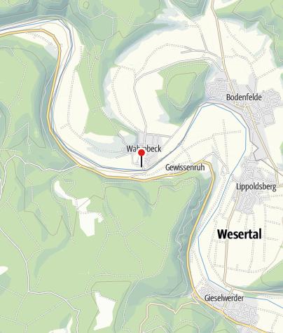 Karte / Kanuanlegestelle Wahmbeck