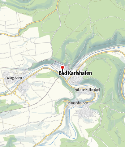 Karte / Kanuanlegestelle Bad Karlshafen