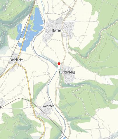 Karte / Kanuanlegestelle Fürstenberg