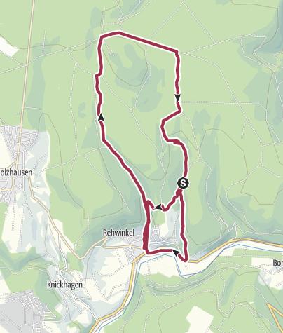 Karte / Wilhelmshausen - Gahrenberg