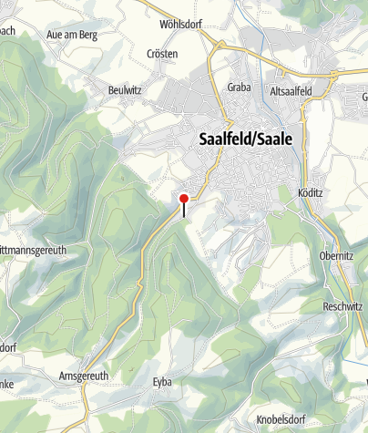 Map / Saalfelder Feengrotten