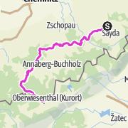 Mapa / Miriquidi Road (C-Edition) 3/3 -  Von Voigtsdorf auf den Fichtelberg