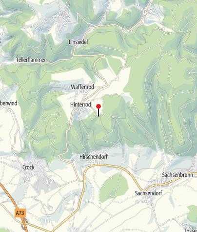 Map / Feriendorf Auenland - Waffenrod