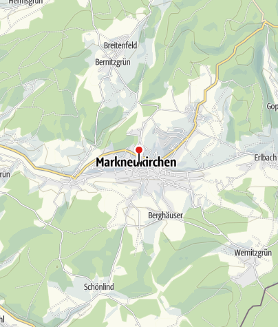 Karte / Sparkasse Vogtland - Geldautomat Markneukirchen