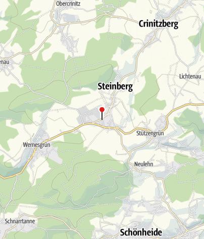 Mapa / Sparkasse Vogtland - Geldautomat Rothenkirchen
