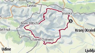 Zemljevid / Tour aus GPX-Track am 12. Oktober 2020