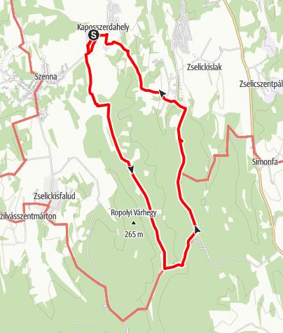 Térkép / Ropolyi körtúra