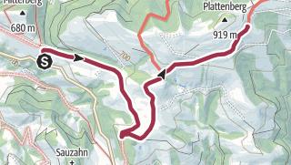 Karte / Tourenplanung am 22.11.2020 09:21:58