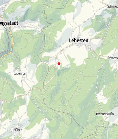Map / Technisches Denkmal Historischer Schieferbergbau - Lehesten